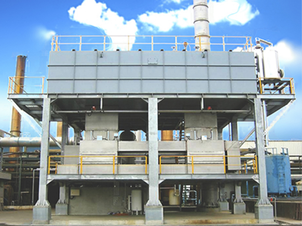 沸石分子筛浓缩转轮+蓄热式催化燃烧(RCO)