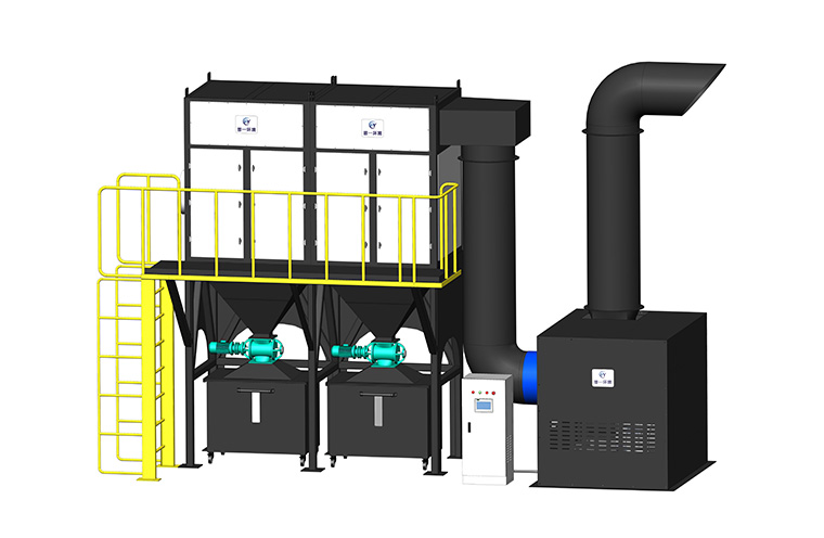ZD系列―脉冲反吹型中央集尘系统