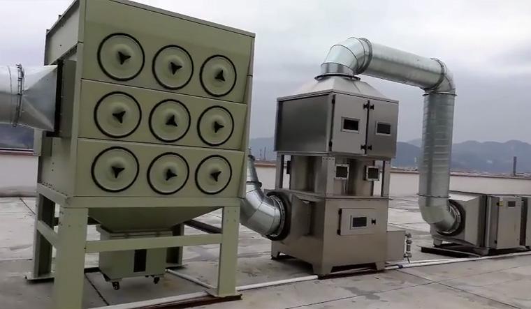金属行业废气净化项目案例