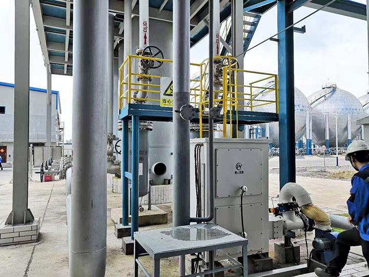石油化工废气净化项目案例