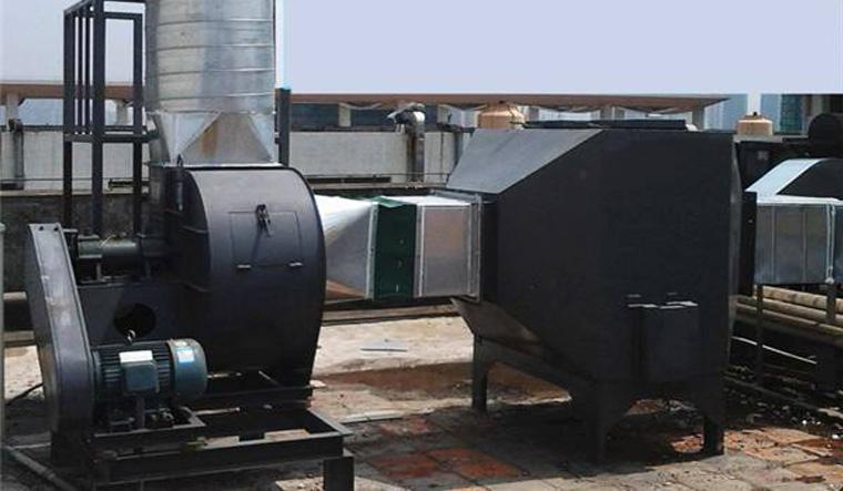 塑胶行业废气净化项目案例